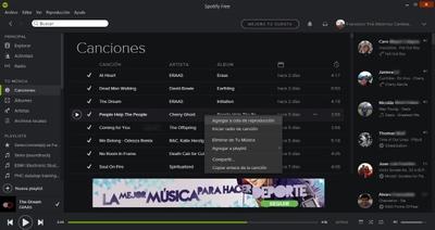 Spotify para Windows ahora funciona mejor en pantallas táctiles