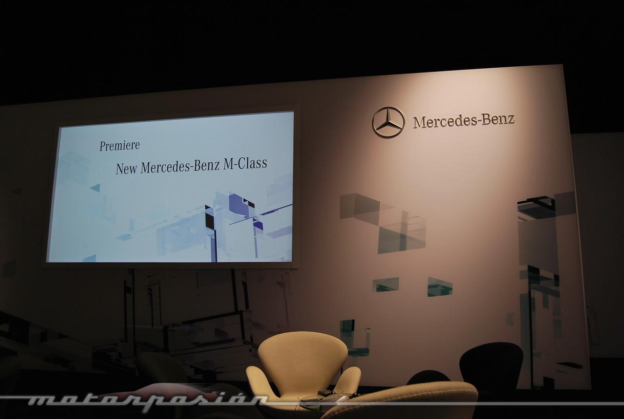Foto de Mercedes-Benz Clase M 2012 (presentación estática) (1/38)