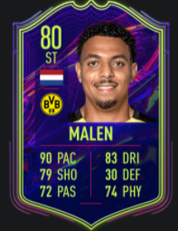 Malen FIFA 22 ones to watch promesas