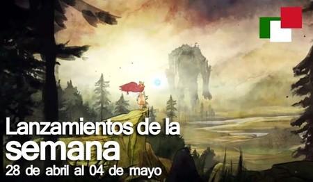 Lanzamientos de la semana en México del 28 de abril al 4 de mayo