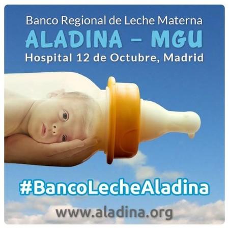 La Fundación Aladina recuerda la importancia que tiene la alimentación con leche materna en la salud de los bebés
