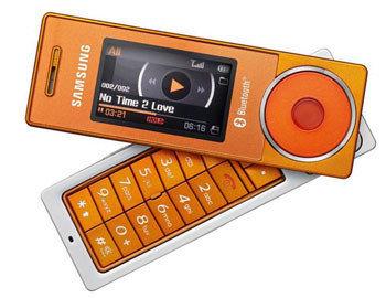 Samsung X830 Orange Edition