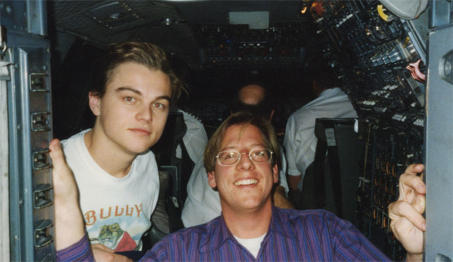 Dicaprio And Friend