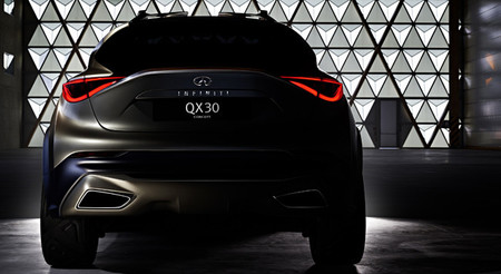 El Infiniti QX30 Concept estará en Ginebra