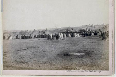 Consejo de indios Lakota