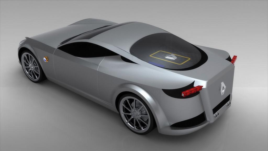 renault new alpine concept 2 14. Black Bedroom Furniture Sets. Home Design Ideas