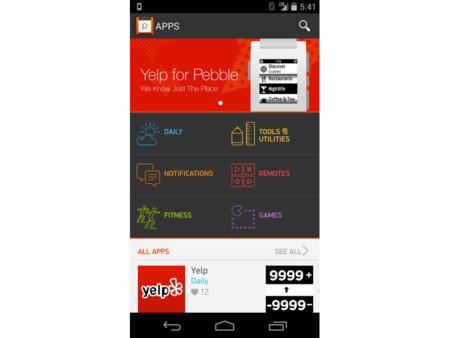 La tienda de aplicaciones de Pebble se estrena este lunes en iOS
