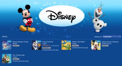 Prepara tu Mac para los más pequeños estas navidades, Especial Disney en la Mac App Store