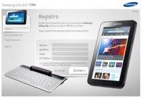 Samsung España regalará el teclado del Galaxy Tab