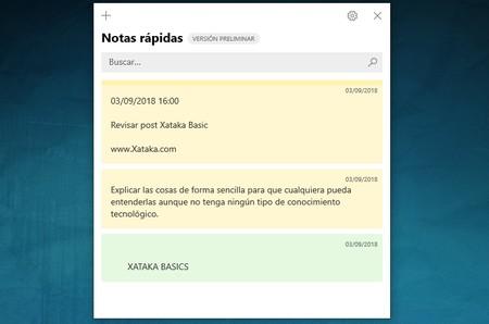 Notas Rapidas