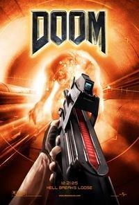 Poster oficial de la película DOOM