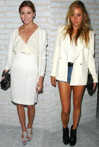 Fiesta de Calvin Klein en Nueva York: vestidos y looks en blanco