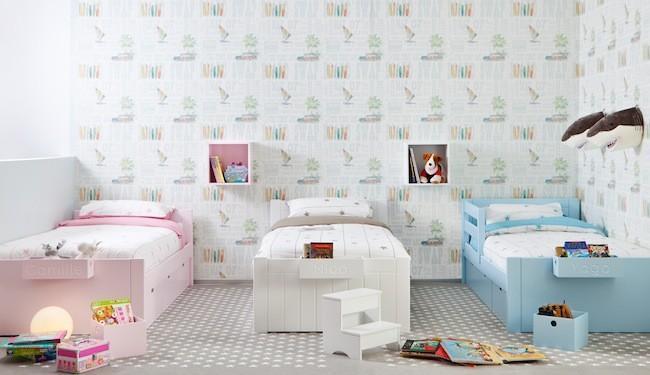 Descubre todas las novedades de roomplanner by asoral para - Dormitorios infantiles mixtos ...