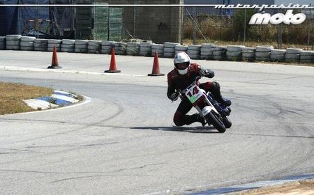 Rini en acción en el Circuit d