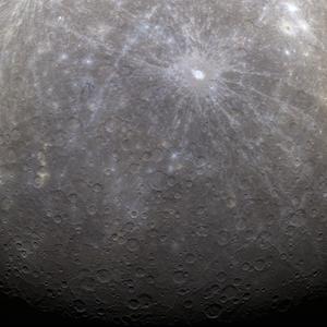 Nueva imagen del planeta Mercurio