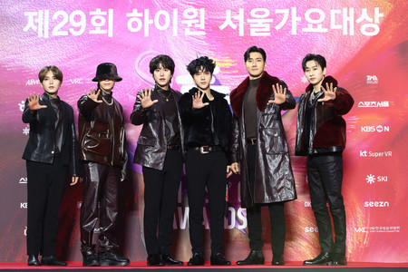 Super Junior The 29th Seoul Music Awards Red Carpet
