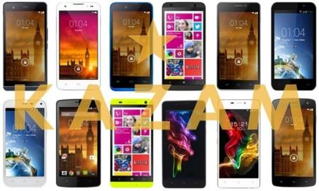 Así queda el catálogo completo de smartphones Kazam
