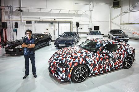 Toyota logró juntar las cinco generaciones del Supra por primera vez