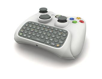 Messenger en la Xbox con un teclado-mando