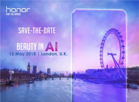 El Honor 10 se presentará el 15 de mayo y traerá una cámara con funciones IA