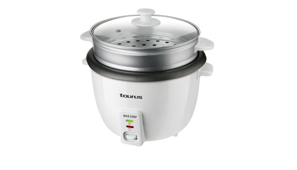 Cocedor de arroz Taurus Rice Chef 968.934 con recipiente de 1,8 litros