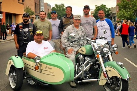 Indian Veterans Charity Ride