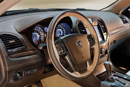 Primeras fotografías del interior del Lancia Thema 2012