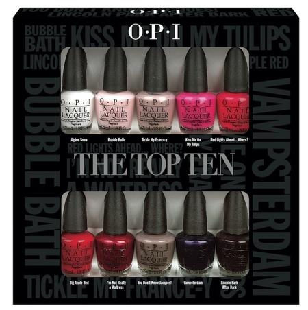 El top ten de OPI ahora en un pack especial