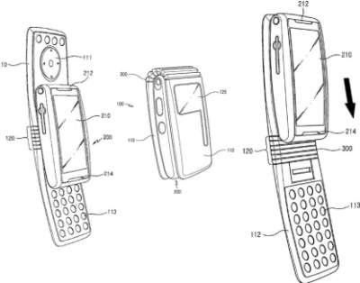 Samsung patenta el móvil slider de concha