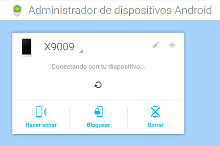 Administrador dispositivos Android