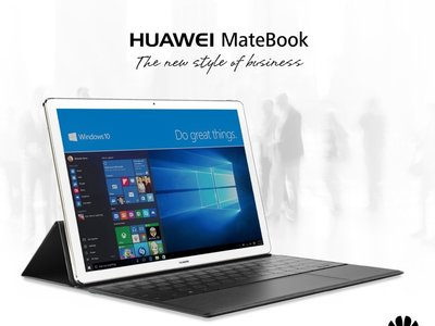 Convertible Huawei Matebook, con 4GB de RAM y Windows 10, por 519 euros y envío gratis