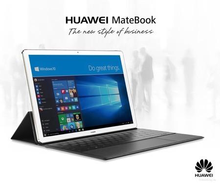 Convertible Huawei Matebook, con 4GB de RAM y Windows 10, por 519 euros y envío gratis