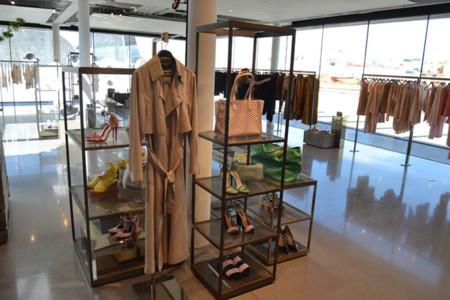 Zara look moda Serrano Madrid showroom