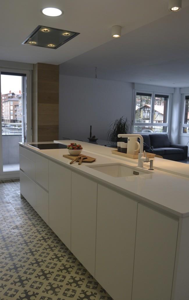 Santos Tolosa Cocinas Diseno Ariane 2 Line E Blanco Seff