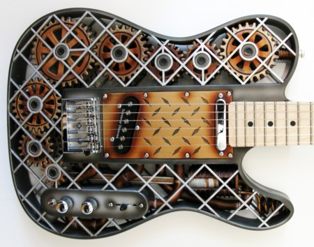 Guitarra steampunk