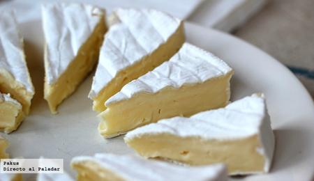 queso brie en porciones