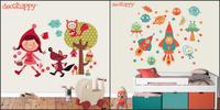 Vinilos infantiles de Decohappy, decora las paredes a todo color