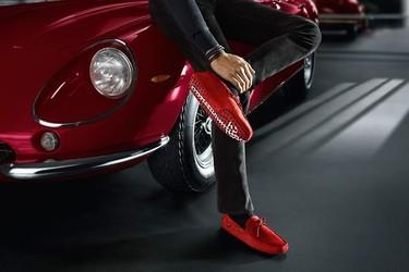 Nuevos mocasines Gommino Tod's para Ferrari