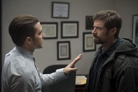 Jake Gyllenhaal y Hugh Jackman en una tensa escena