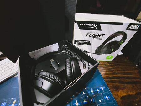 Caja Hyperx Cloudx Flight Wireless