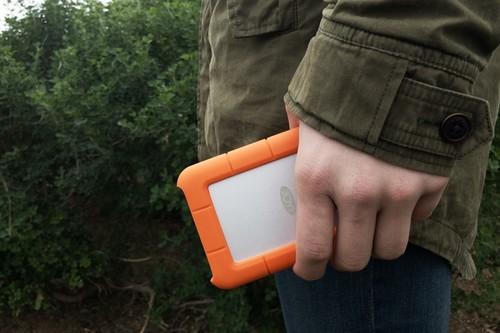LaCie Rugged USB-C, análisis: el disco externo portátil para aventureros y también para los que no lo son