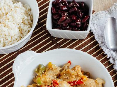 Pescado marinado con soya. Receta fácil y saludable