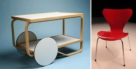 Historia del diseño nórdico - 5 - Aalto y Jacobsen