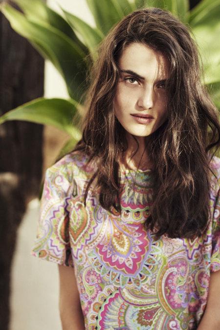 Zara Home Blanca Padilla paisley
