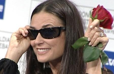 Demi Moore ya tiene gafas
