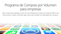La compra de aplicaciones por volumen llega a México y 15 países más