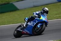 Suzuki continúa su preparación en el test de Motegi