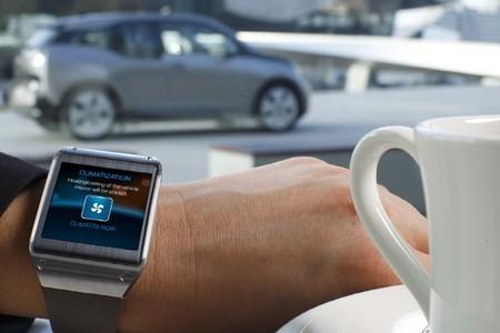 Samsung Galaxy Gear climatizador BMW i3