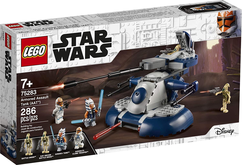 LEGO Kit de construcción Star Wars: La Guerra de los Clones 75283 Tanque de Asalto Blindado