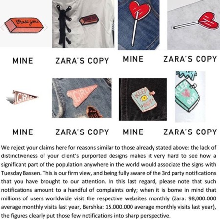 Contestacion Zara